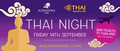 Thai Airways - Thai Night at the Races