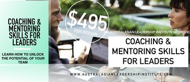Coaching & Mentoring Skills For Leaders