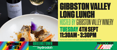 Gibbston Valley Long Lunch: Gay Ski Week QT