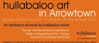 Hullabaloo Art In Arrowtown Opening