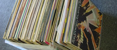 Huge Pop & Rock Vinyl Record Sale - Albany Village Hall