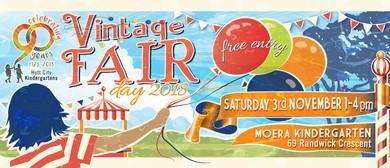 90th Anniversary Vintage Fair