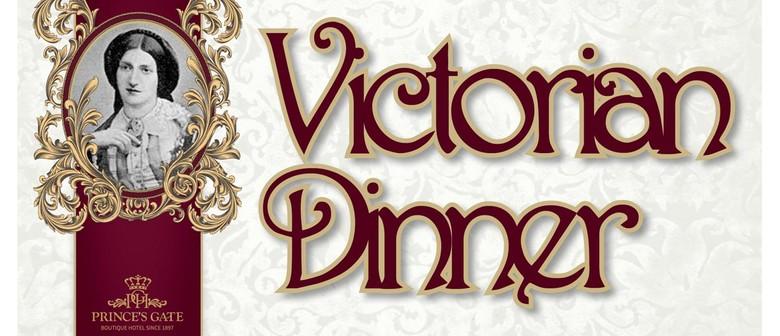 Victorian Degustation Dinner