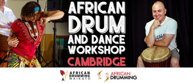 Full day African Drum and Dance Workshop Cambridge