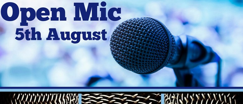 Open Mic: Make the Stage Your Own, All Sound & Lighting Prov