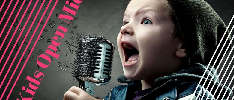 Kids Open Mic - Calling All Talented Child Singers, Dancers
