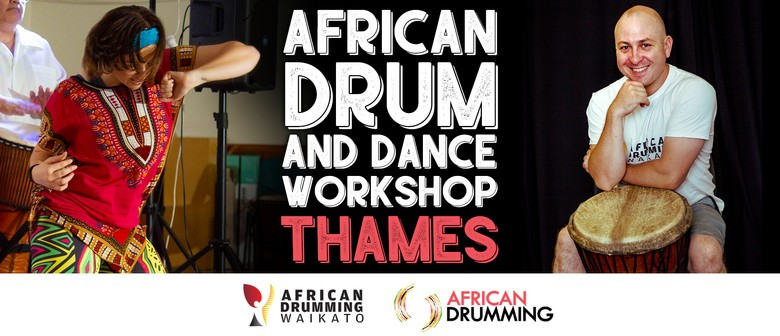 Full day African Drum and Dance Workshop Thames