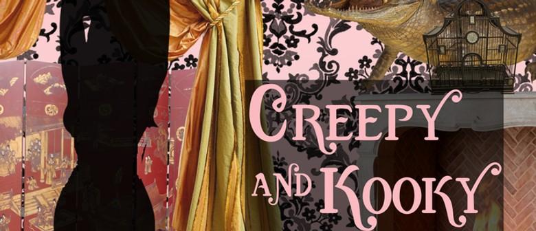 Dr Sketchy's Wellington: Creepy and Kooky