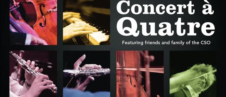 Concert à Quatre