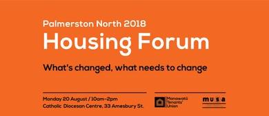 Housing Forum 2018