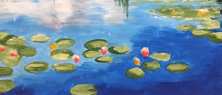 Paintvine - Monet's Water Lilies