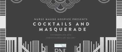 Nurse Maude Hospice Cocktails & Masquerade