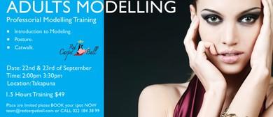 Red Carpet Modelling Training