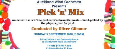 Auckland Wind Orchestra Presents: Pick n Mix