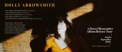 Holly Arrowsmith 'A Dawn I Remember' Album Release Tour