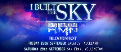 I Built The Sky, Heavy Metal Ninjas and Bloodshot