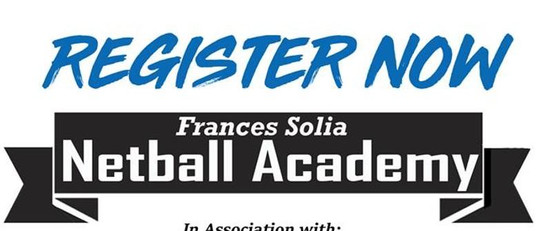 Frances Solia Netball Academy - Porirua Programme Year 7/8