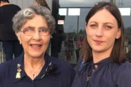 Floortalk: Ayesha Green with her Nana, Katie Portas
