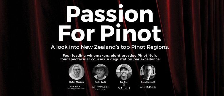 Passion For Pinot Winemakers Dinner