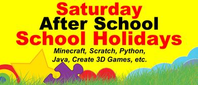 Saturday Minecraft, Coding, Create 3D Games, Web Design