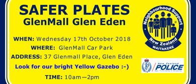 Safer Plates Glen Eden