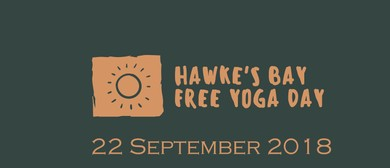 Hawkes Bay Free Yoga Day