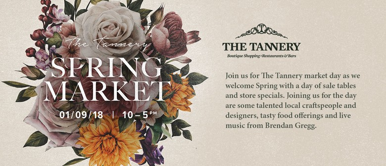 The Tannery Spring Market