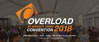 Overload 2018 - NZ Comic and Manga Convention