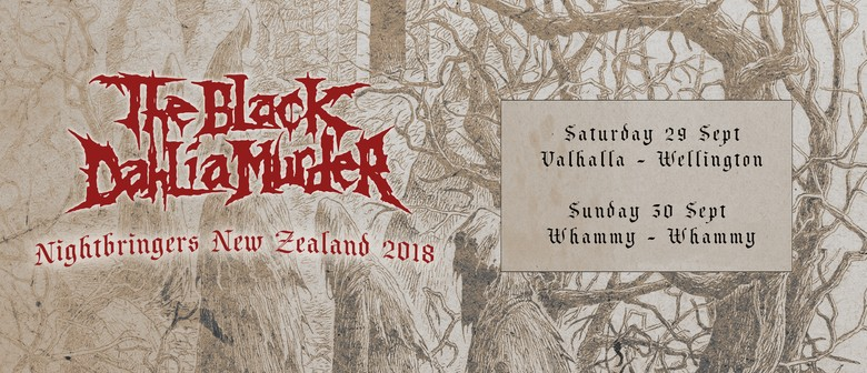 The Black Dahlia Murder – Nightbringers Tour