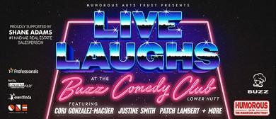 The Buzz Comedy Club with Cori Gonzalez-Macuer