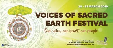 Voices of Sacred Earth Festival <em>2019</em>