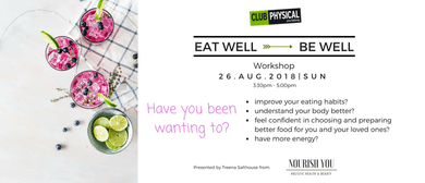 Eat Well - Be Well