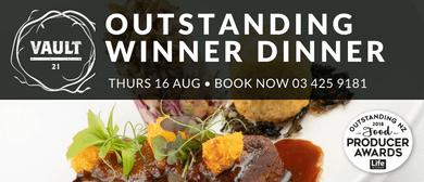 Vault 21 Outstanding Winner Dinner