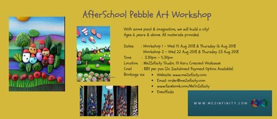 Afterschool Pebble Art Workshop