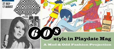 60s Style In Playdate Magazine