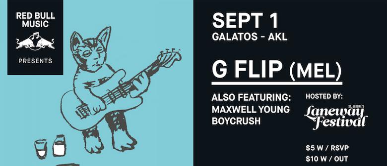 Red Bull Music: G Flip, Boycrush, Maxwell Young