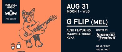 Red Bull Music: G Flip, KVKA, Maxwell Young