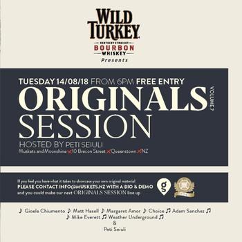 Wild Turkey Originals Session Volume 7