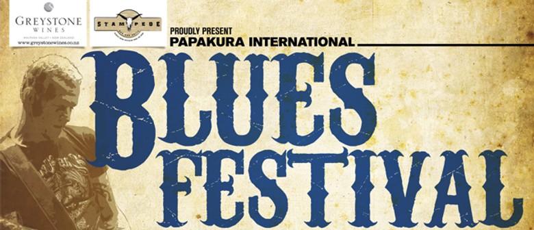Papakura Greystone Wines International Blues Festival