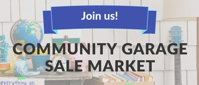 Community Garage Sale Market