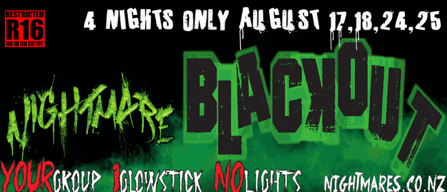 """Nightmares Containment """"Black Out"""""""