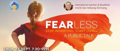 Fear-Less: A Public Talk