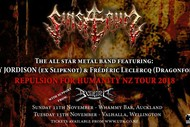 Image for event: Sinsaenum NZ Tour 2018