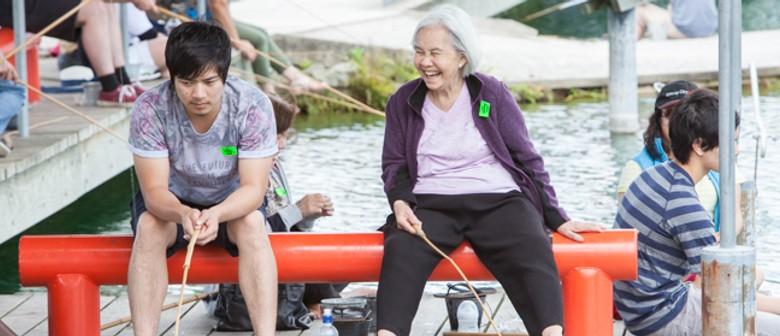 Huka Prawn Park's Famous Fishing Competiton