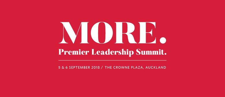More. Premier Leadership Summit