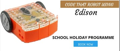 Code That Robot Using Edison - Scratchpad Holiday Programme