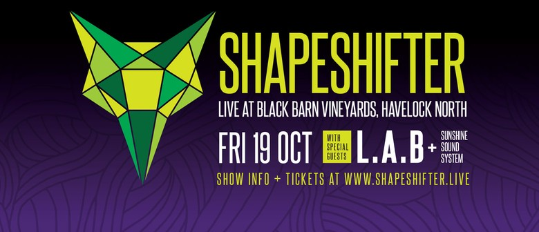 Shapeshifter with L A B & Sunshine Sound System