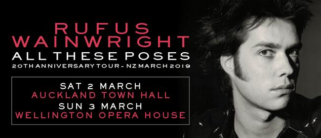 Rufus Wainwright 20th Anniversary Tour
