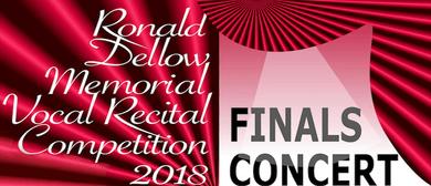 Ronald Dellow Memorial Vocal Recital Competition Finals 2018