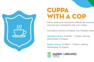 Image for event: Cuppa With a Cop